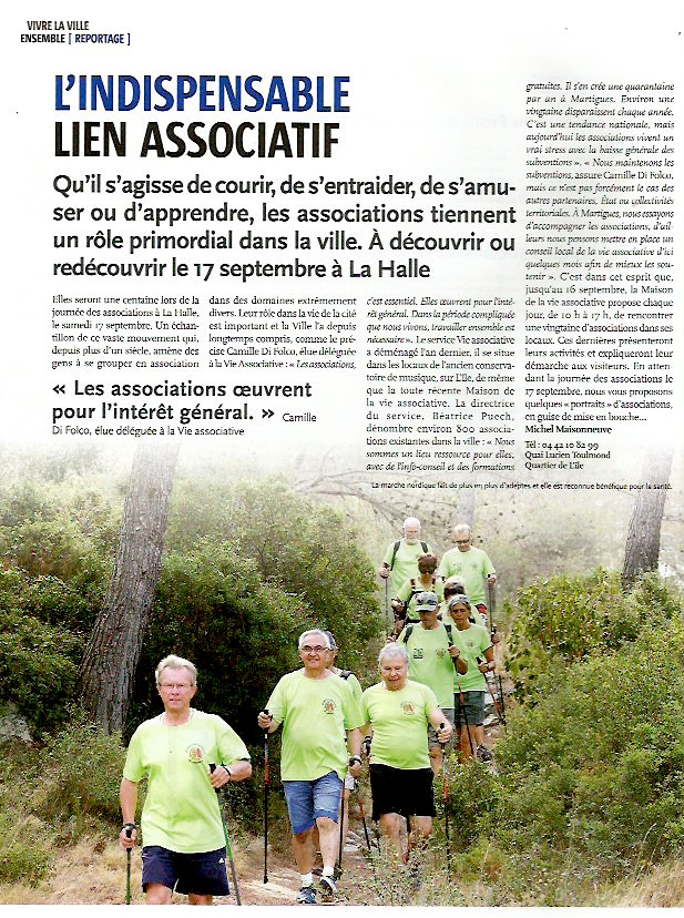 Article - REFLETS  MARTIGUES